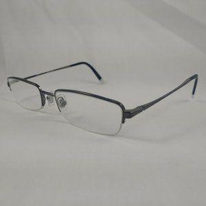 DKNY Eyeglass Frames DY5565 Black White Metal Half